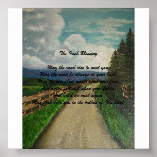 The Irish Blessing Print
