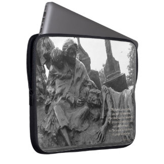 The Irish Memorial in Philadelphia Laptop Sleeve