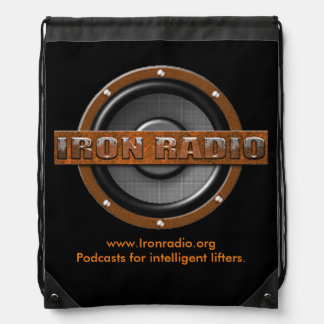 The IronRadio.org backpack is here!