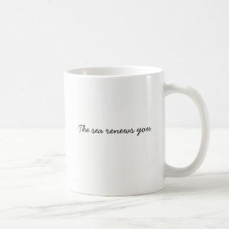 The is renews you coffee mug