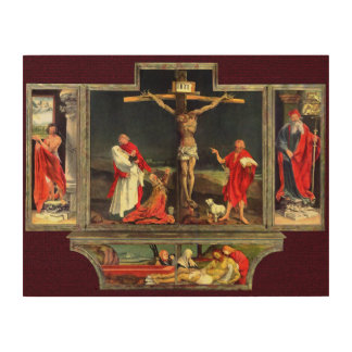 The Isenheim Altarpiece Wood Print