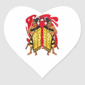 THE ISLAND DEFENDERS HEART STICKER