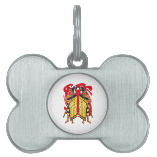 THE ISLAND DEFENDERS PET TAG