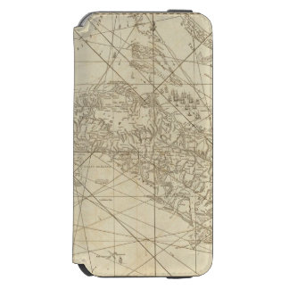 The Island of Cuba with part of the Bahama Banks Incipio Watson™ iPhone 6 Wallet Case
