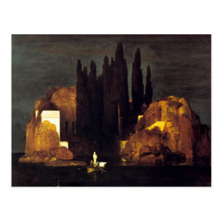 The Isle of the Dead by Arnold Böcklin Postcard