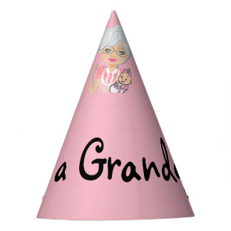 The It's a Grandgirl Party Hat