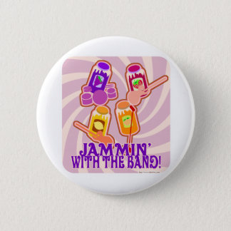 The Jammin Jam Band 2 Inch Round Button