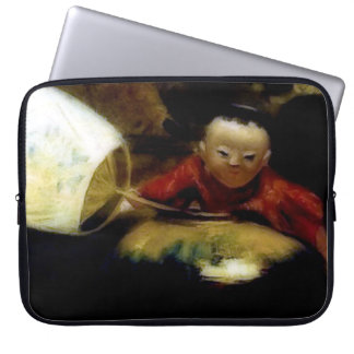 The Japanese Doll (detail) Laptop Sleeve