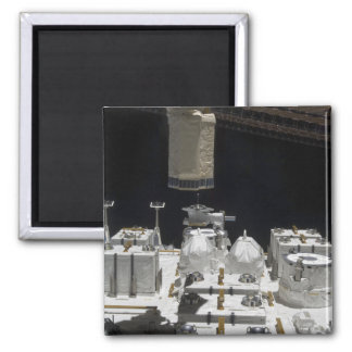 The Japanese Experiment Module Exposed Facility Square Magnet