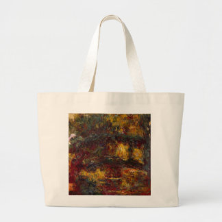 The Japanese Footbridge Giverny by Claude Monet Tote Bags