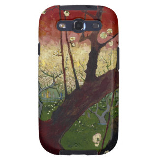 The Japanese hobby: Flower (Hiroshige's copying) o Galaxy SIII Cover