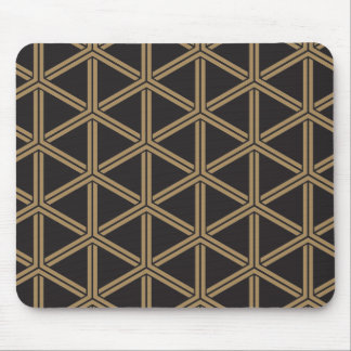 The Japanese traditional pattern group tortoise Mouse Pad