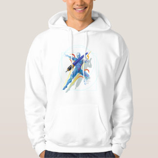 The Javelin Thrower Hooded Sweatshirts