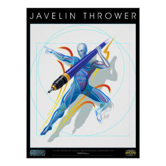 The Javelin Thrower Poster Prints