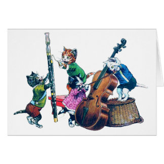 The Jazz Cats Band Card