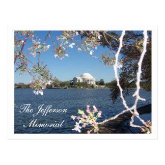 The Jefferson Memorial Postcard