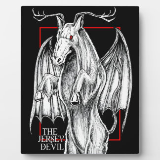 The Jersey Devil Plaque
