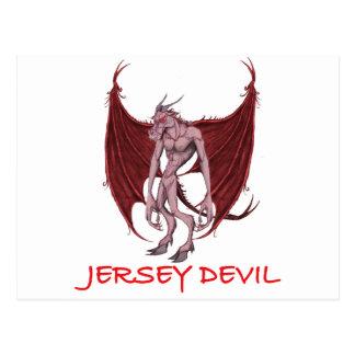 THE JERSEY DEVIL POSTCARD