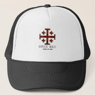 4b2ad579374 The Jerusalem Cross - ver 1 - Opus Dei - Clear Trucker Hat