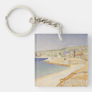 The Jetty at Cassis Keychain