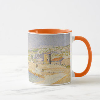 The Jetty at Cassis Mug