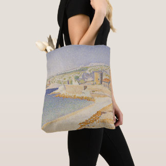 The Jetty at Cassis Tote Bag