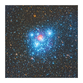 The Jewel Box Kappa Crucis Star Cluster NGC 4755 Canvas Print