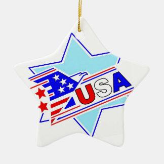 The Jewish American Ceramic Star Ornament