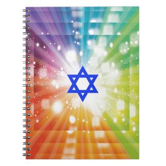 The Jewish burst of lights. Notebooks