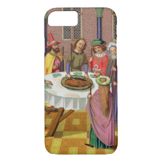 The Jews' Passover, facsimile of a 15th century mi iPhone 7 Case