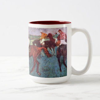 The Jockeys Two Tone Mug