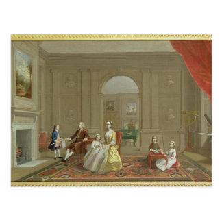 The John Bacon Family, c.1742-43 (oil on canvas) Postcard