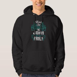 The JOHN Family. Gift Birthday Hoodie