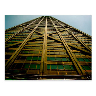 The John Hancock Building Postcard