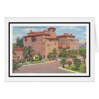 The John Ringling Hotel Card