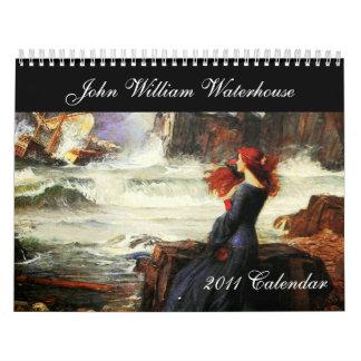 The John William Waterhouse Fine Art Calendar