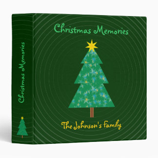 The Johnson's Family | Christmas Memories 3 Ring Binder