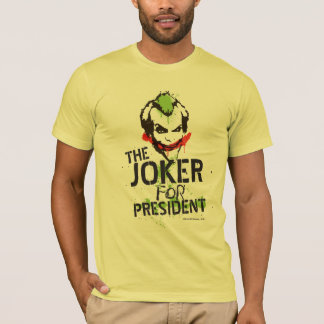 The Joker for President T-Shirt