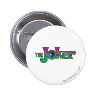 The Joker Name Logo 2 Inch Round Button