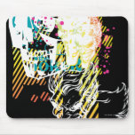 The Joker Neon Montage Mouse Pads