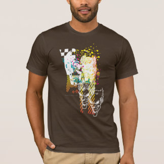 The Joker Neon Montage T-Shirt
