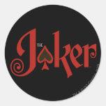 The Joker Playing Card Logo Sticker