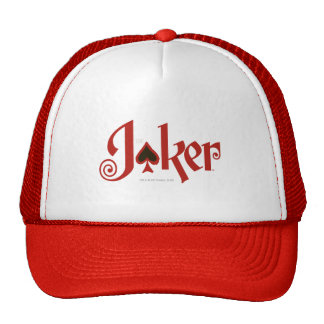 The Joker Playing Card Logo Trucker Hat