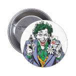 The Joker Points Gun 2 Inch Round Button
