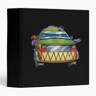 The Joker's Car Vinyl Binders
