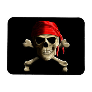 The Jolly Roger Magnet