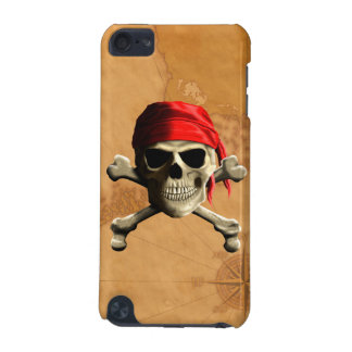 The Jolly Roger Pirate Map iPod Touch (5th Generation) Case