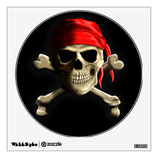 The Jolly Roger Wall Sticker