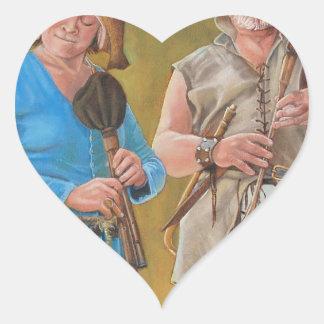The Jongleurs Heart Sticker