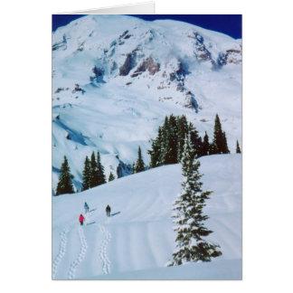 The Journey: Mt Rainier Card